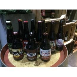Pack 12 bières brunes